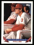 1993 Topps #445  Dale Murphy  Front Thumbnail