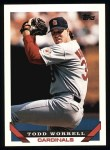 1993 Topps #121  Todd Worrell  Front Thumbnail