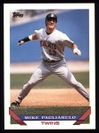 1993 Topps #336  Mike Pagliarulo  Front Thumbnail