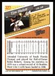 1993 Topps #327  Tim Hulett  Back Thumbnail