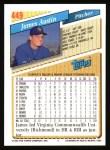1993 Topps #449  Jim Austin  Back Thumbnail