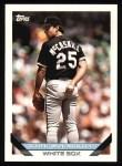 1993 Topps #175  Kirk McCaskill  Front Thumbnail