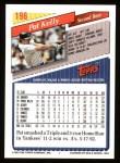 1993 Topps #196  Pat Kelly  Back Thumbnail