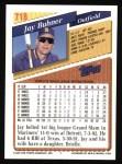 1993 Topps #718  Jay Buhner  Back Thumbnail