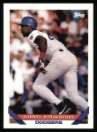 1993 Topps #450  Darryl Strawberry  Front Thumbnail