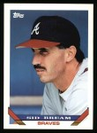 1993 Topps #224  Sid Bream  Front Thumbnail