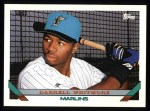 1993 Topps #697  Darrell Whitmore  Front Thumbnail