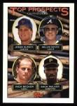 1993 Topps #658  Jeromy Burnitz / Melvin Nieves / Rich Becker / Shon Walker  Front Thumbnail
