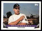 1993 Topps #676  Rudy Seanez  Front Thumbnail