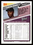 1993 Topps #664  Calvin Jones  Back Thumbnail