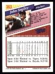1993 Topps #363  John Smiley  Back Thumbnail