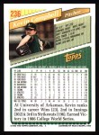 1993 Topps #236  Kevin Campbell  Back Thumbnail