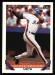1993 Topps #399  Daryl Boston  Front Thumbnail