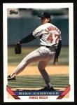 1993 Topps #241  Mike Gardiner  Front Thumbnail