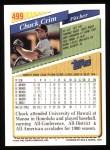 1993 Topps #499  Chuck Crim  Back Thumbnail