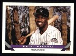 1993 Topps #551  Eric Young  Front Thumbnail