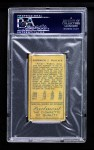 1911 T205 TWO Bobby Wallace    Back Thumbnail