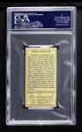 1911 T205  Hughie Jennings  Back Thumbnail