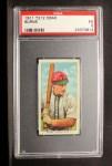 1911 T212 Obak #24 RED Burns  Front Thumbnail