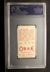1911 T212 Obak #104 RED Doc Moskiman  Back Thumbnail