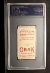 1911 T212 Obak #162 RED Ward  Back Thumbnail