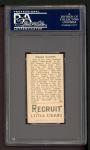 1912 T207  Ed Lennox    Back Thumbnail
