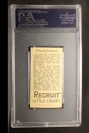 1912 T207  Ed Reulbach    Back Thumbnail