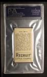 1912 T207 #8  Jack Barry    Back Thumbnail