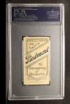 1909 T206 #67 POR Fred Clarke  Back Thumbnail