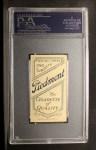 1909 T206 #19  Emil Batch  Back Thumbnail