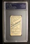 1909 T206  Rube Kroh  Back Thumbnail
