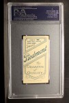 1909 T206 #59 BAT Frank Chance  Back Thumbnail