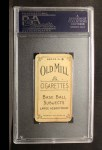 1910 T210-8 Old Mill Southern League  Bayless  Back Thumbnail