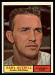 1961 Topps #358  Earl Averill Jr.  Front Thumbnail