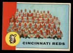 1963 Topps #63   Reds Team Front Thumbnail