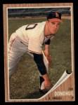 1962 Topps #498  Jim Donohue  Front Thumbnail