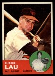 1963 Topps #41  Charlie Lau  Front Thumbnail