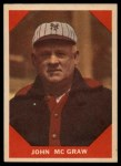 1960 Fleer #66  John McGraw  Front Thumbnail