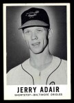 1960 Leaf #28  Jerry Adair  Front Thumbnail