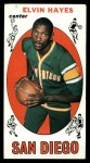 1969 Topps #75  Elvin Hayes  Front Thumbnail