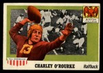 1955 Topps #90  Charlie O'Rourke  Front Thumbnail
