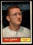 1961 Topps #121  Eli Grba  Front Thumbnail