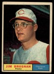 1961 Topps #513  Jim Brosnan  Front Thumbnail