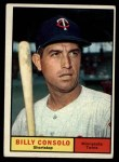 1961 Topps #504  Billy Consolo  Front Thumbnail