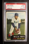 1953 Topps #244  Willie Mays  Front Thumbnail