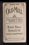 1910 T210-4 Old Mill Virginia Valley League  Kuehn  Back Thumbnail