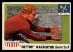 1955 Topps #81  Cotton Warburton  Front Thumbnail