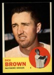 1963 Topps #112  Dick Brown  Front Thumbnail