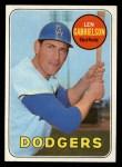 1969 Topps #615  Len Gabrielson  Front Thumbnail