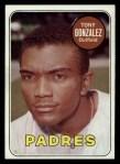1969 Topps #501 WN Tony Gonzalez  Front Thumbnail